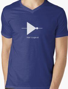 Not Logical  - T Shirt Mens V-Neck T-Shirt