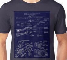 Lee Enfield Blueprint Shirt Unisex T-Shirt