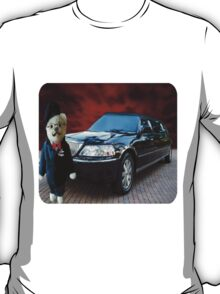 Teddy Bear Limousine Chauffeur Kids (CHILDRENS) Tee Shirt T-Shirt