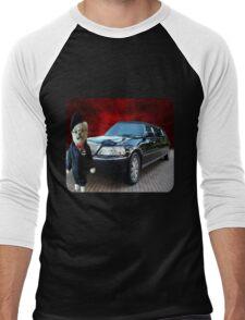 Teddy Bear Limousine Chauffeur Kids (CHILDRENS) Tee Shirt Men's Baseball ¾ T-Shirt
