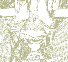 greenman shaman Sticker