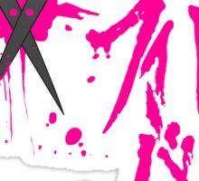 Dangan Ronpa: Genocider Syo Bloodstain Fever t-shirt Sticker