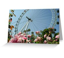London Eye! Greeting Card