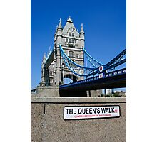 Tower Bridge.. Photographic Print