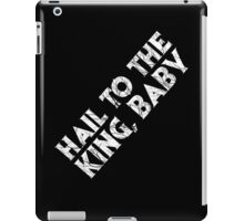 Hail to the King iPad Case/Skin