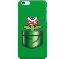 Mario - Piranha Plant Pocket iPhone Case/Skin