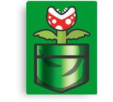 Mario - Piranha Plant Pocket Canvas Print