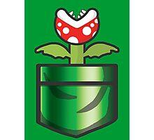 Mario - Piranha Plant Pocket Photographic Print