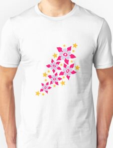 Flowers And Stars T-Shirt