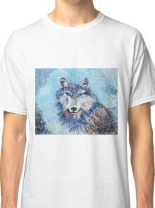 Snow Wolf - Animal Art by Valentina Miletic Classic T-Shirt