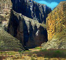 Big Bend Santa Elena Canyon by designingjudy