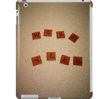 Word Nerd iPad Case/Skin