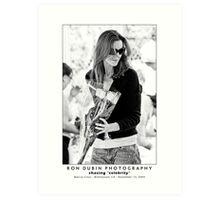 Marcia Cross - Desperate for Roses Art Print