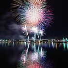 Docklands Fireworks by wolfcat