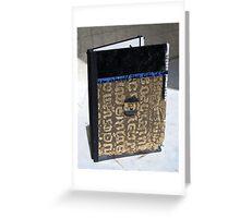 Oeuvre d'art sur Etui KINDLE #4 - Pièce unique - ORIGINAL COLLAGE Greeting Card