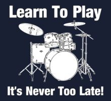 Learn To Play Drums Baby Tee