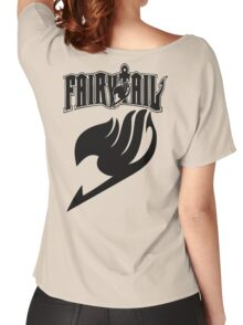 Fairy Tail Black Women's Relaxed Fit T-Shirt