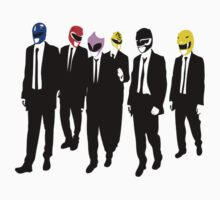 Power Rangers - Reservoir Dogs by YouKnowThatGuy