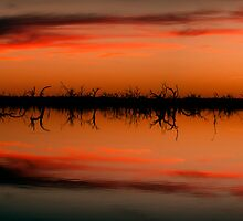 Menindee Lake by WTGPhotoart