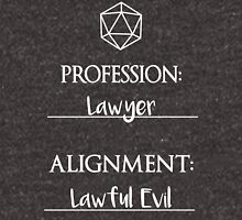Lawyers are lawful evil Unisex T-Shirt