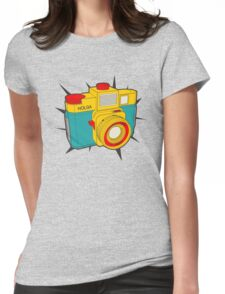 HOLGA COLOR Womens Fitted T-Shirt
