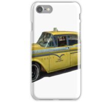 Vintage Cab Taxi  iPhone Case/Skin