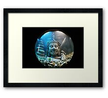 FishEye Photography - Buddha Framed Print