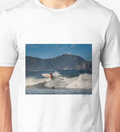 Cape Byron Surfer Unisex T-Shirt