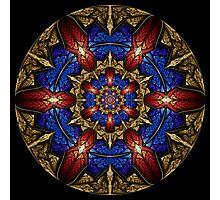 Mayan Shield Photographic Print