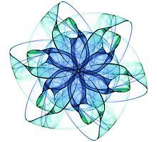 Gossamer Pinwheel by Ross Hilbert