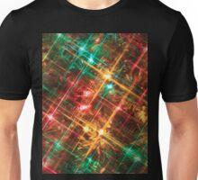 christmas tree lights Unisex T-Shirt