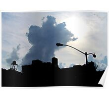 Hazy Summer Afternoon, New York City  Poster