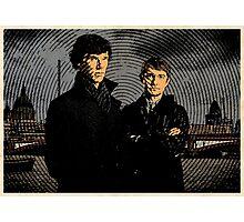 Sherlock Retro Photographic Print