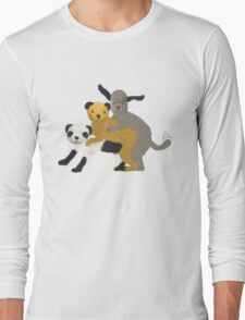 Funny, offensive Sooty,Sweep and Sue Long Sleeve T-Shirt