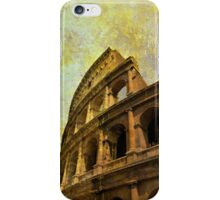 The Colosseum, Rome, Italy iPhone Case/Skin