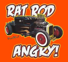 Rat Rod Angry Kids Clothes