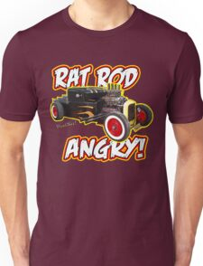 Rat Rod Angry Unisex T-Shirt