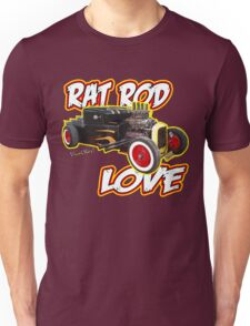 Rat Rod Love T-Shirt Unisex T-Shirt