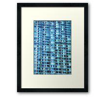 Condo Facade Framed Print