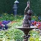Pan's  fountain by Nancy Richard