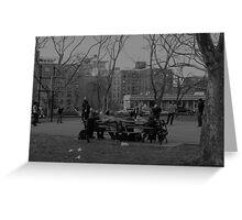 Cadman Plaza Park, Brooklyn Greeting Card
