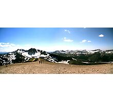 Snow-Capped Terrain  Photographic Print