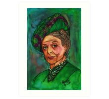 Dowager Countess Art Print