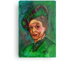 Dowager Countess Metal Print