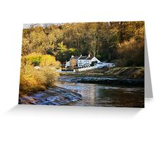 River Keeper's Cottage Greeting Card
