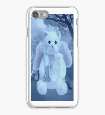 ☀ ツHUGS AND AFFECTION FROM A BEARY SPECIAL ANGEL IPHONE CASE VERSION TWO☀ ツ  iPhone Case/Skin
