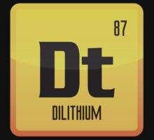 Element of Dilithium v1 (Yellow) by justinglen75
