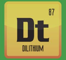 Element of Dilithium v1 (Yellow) Baby Tee