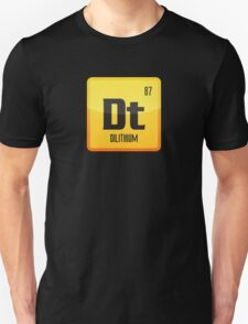 Element of Dilithium v1 (Yellow) T-Shirt
