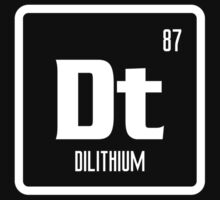Element of Dilithium (B/W) by justinglen75